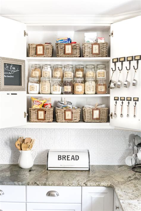 Link 10 Things For A Ready Pantry by Pantry Cabinet Organization And Printable Labels Bless