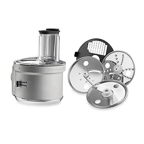 Buy KitchenAid® Food Processor with Dicing Disc Stand Mixer Attachment in Stainless Steel from