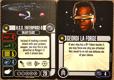 Trek Attack Wing Card Template by Trek Attack Wing S Gaming Addiction