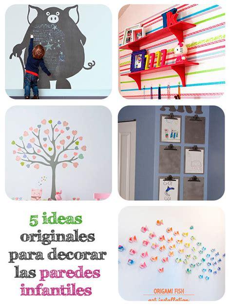 decorar paredes fiesta infantil 5 ideas originales para decorar paredes infantiles pequeocio