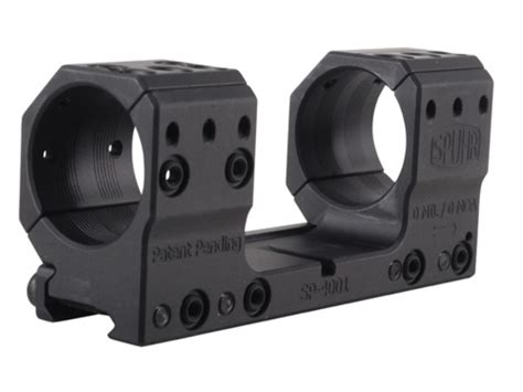 one mount spuhr isms 1 scope mount picatinny style matte