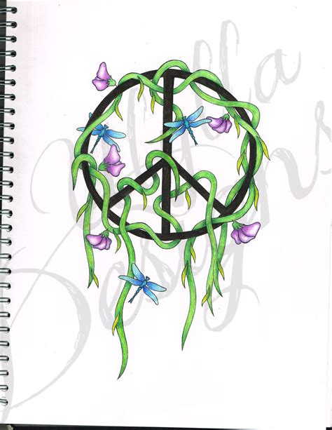 design art signs nelson peace sign tattoo design by ulylla on deviantart