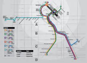 denver colorado light rail map rtd light rail map rtd s light rail system consists of 5