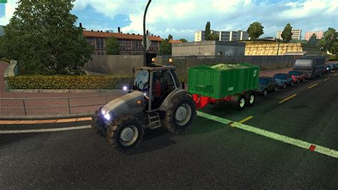 mod game ets2 tractor and trailers in traffic mod euro truck simulator