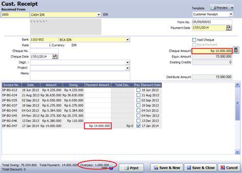 software pembuat faktur invoice penjualan resmi accurate original accounting software