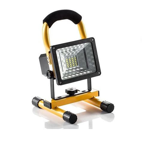 Outdoor Work Lights Outdoor Cing Spotlight Portable Led Work Light Rechargeable Battery Usb Port Ebay