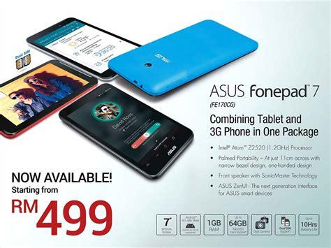asus fonepad 7 generasi baru mula dijual di malaysia harga bermula rm499 amanz