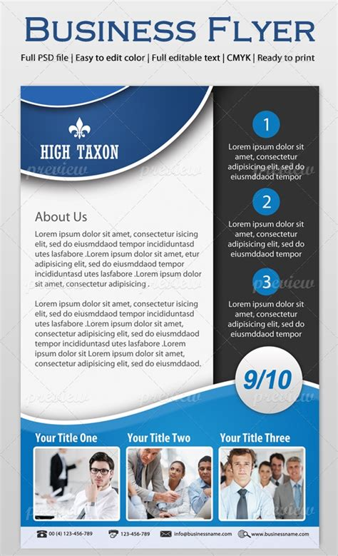 custom flyer templates business flyer vol 01 print codegrape