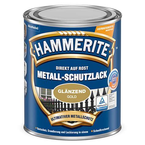 Fahrrad Lackieren Hammerite by Hammerite Metall Schutzlack Gold 250 Ml Gl 228 Nzend