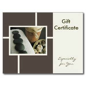 free therapy gift certificate template best photos of gift certificate template