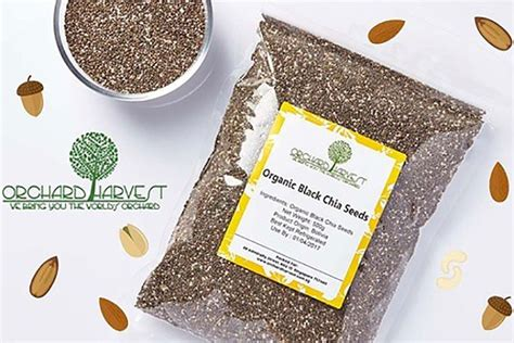 Istimewa Black Chia Seeds 1 Kg only s 19 90 for 1kg orchard harvest organic chia seeds great deals singapore