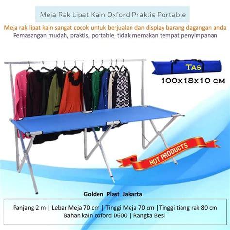 Jual Meja Lipat Plastik Untuk Jualan jual meja lipat alumunium kecil portable murah