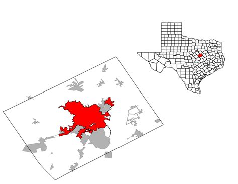 map of mclennan county texas file mclennan county waco svg wikimedia commons