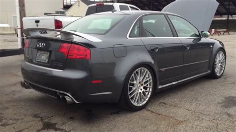 Audi Rs4 Twin Turbo by Audi Rs4 Twin Turbo Launch Control Youtube