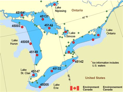 canada weather forecast map environment canada weather power and sail squadron