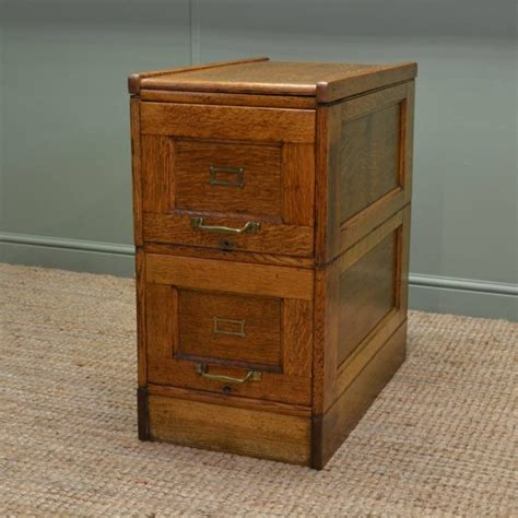 Antique Oak File Cabinet Edwardian Oak Antique Filing Cabinet Antiques World