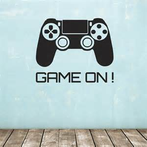 konsole wand on wall sticker console controller decal