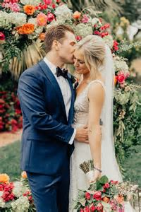 Colorful and Classy Palm Springs Wedding at The