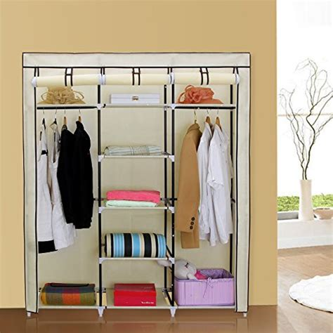 Buy Portable Closet by Buy It Now Best Songmics Portable Clothes Closet Non