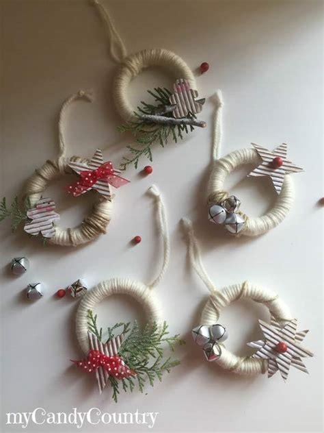 tende natalizie fai da te white together ghirlanda natalizia con anelli