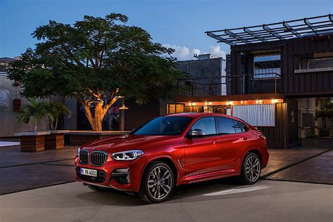 New Bmw X4 2018 by 2018 Bmw X4 Finally Unveiled With Details Autoevolution