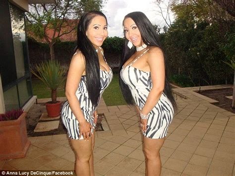 lucy and anna decinque video identical twins anna and lucy decinque share