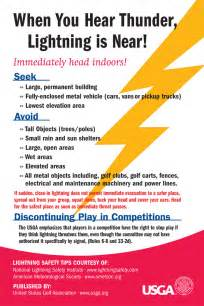 Lightning Chidori Card Tips Stay Safe On The Golf Course During Thunderstorms And