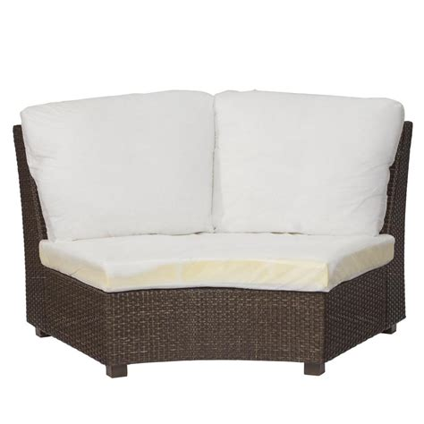 hton bay torquay custom armless middle wicker outdoor