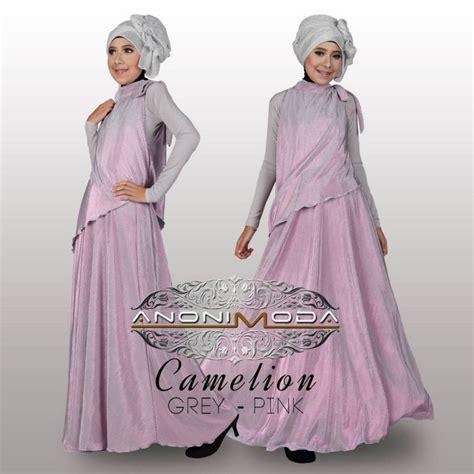 Gamis Casual Sailor Style Material Lacoste busana muslim koleksi terbaru