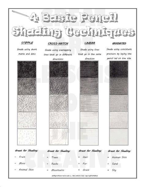 sketch book pdf basic pencil shading techniques