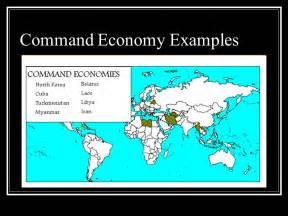 Command Economy Examples