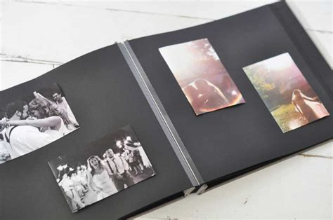 Wedding Album Refill Pages by Pages For Blue Sky Papers Post Bound Black Page