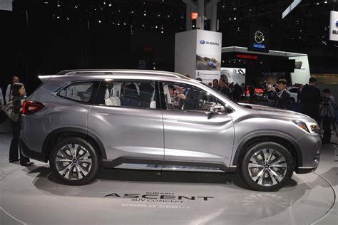 2019 Subaru Suv by Subaru Ascent 2019 Suv Before The La Auto Show