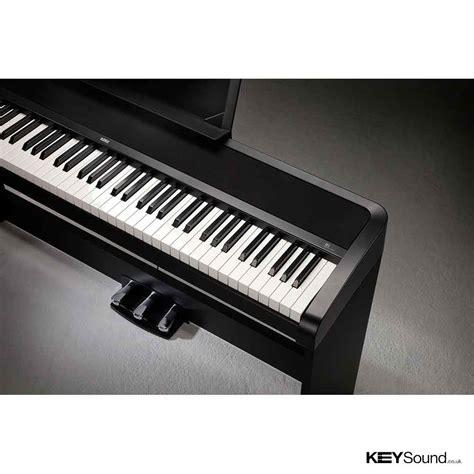 Korg B1sp Digital Piano Package Black korg b1sp b digital piano keysound leicester midlands