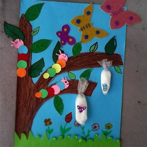 craft projects for toddlers and preschoolers caterpillar be butterfly crafts activities for preschool