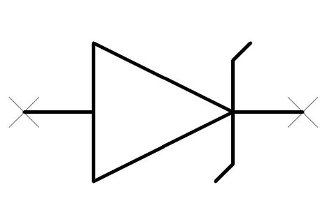 schematic symbol for tvs diode info zone
