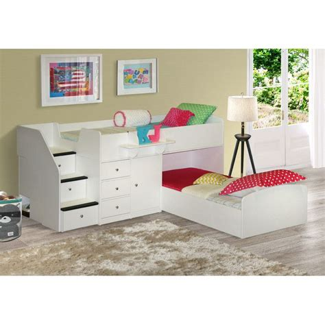 the bed l berg l shaped bunk bed reviews wayfair z