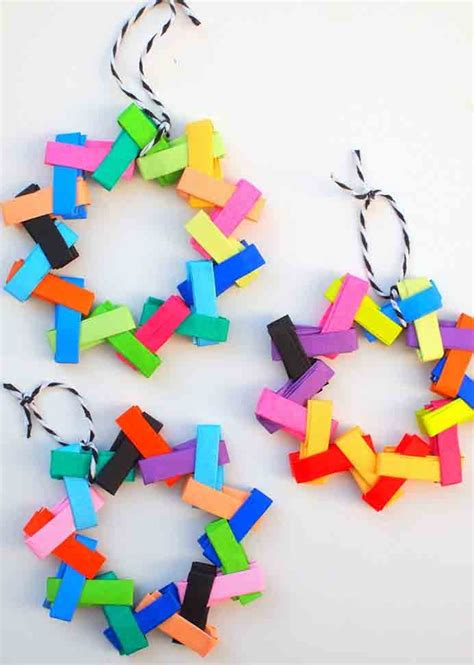 Origami Paper Chain - unique creations not mistakes crafty like