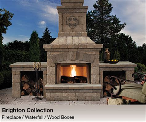 belgard elements outdoor fireplaces kitchens chicago