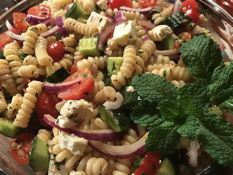 ina garten greek vinaigrette salad dressing greek pasta salad with a sun dried tomato vinaigrette