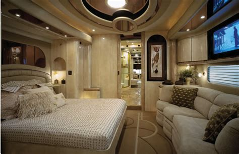 luxury motorhome for rich rednecks master bedroom 65