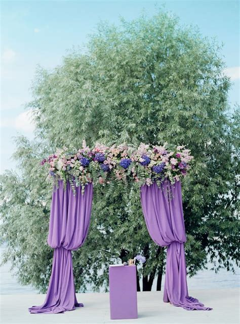 Wedding Arch Purple by 28 Stylish Ways To Add Purple To Your Fall Wedding