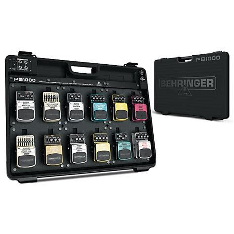 best powered pedalboard behringer pb1000 powered pedal board guitar center