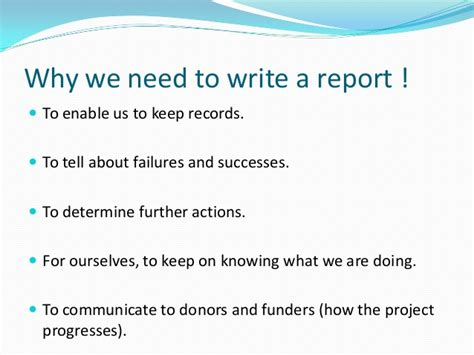 how to write a report sle how to write a report sle 28 images how to write