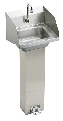 elkay hand wash sink elkay chsp1716lrsc hand wash up commercial sink with side