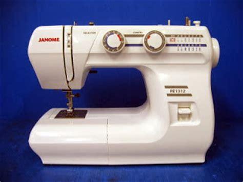 Janome Re 1312 Re1312 Mesin Jahit Portable fahad baokbah trading est janome model 1312