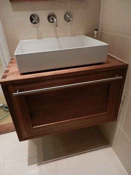 walnut bathroom vanity by jersey lumberjocks