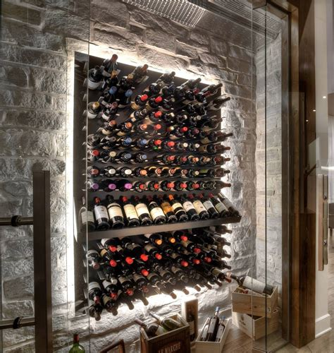 Kitchen Cabinet Wine Rack Ideas by Glass Enclosed Wine Cellars Stact Wine Racks