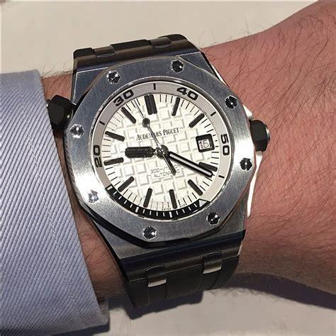 Ap Royal Oak Offshore Diver Steel 2015 15710 Swiss Eta Best Edition sihh 2015 audemars piguet royal oak offshore diver ref 15710 time and watches the