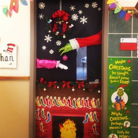 how the grinch stole door decorating ideas 1000 images about grinch on